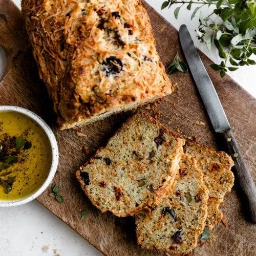 Parmesan Olive Bread 10